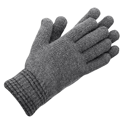 ad7918f5c OMECHY Women's & Men's Winter Warm Lined Knit Cozy Thick Gloves ...