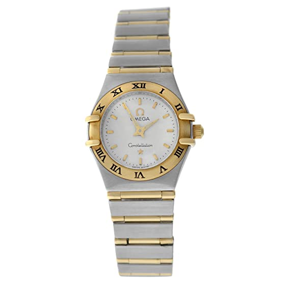 Omega Constellation automatic-self-wind Womens Watch 6553/865 (Certificado) de segunda mano: Omega: Amazon.es: Relojes