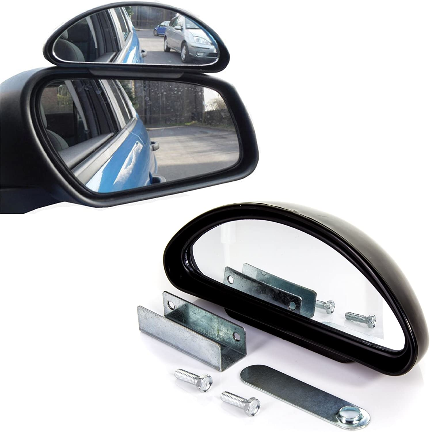 Driving Instructor Learning//Learner Car//Van Reverse View 4x Adjustable Blind Spot Mirror