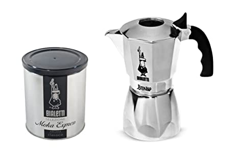 Amazon.com: Brikka 4-cups Percolator + 250 gr. (8,8 oz) de ...