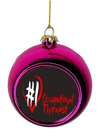 Image Unavailable - Amazon.com: Lea Elliot Inc. #1 Occupational Therapist Red Heart Gift