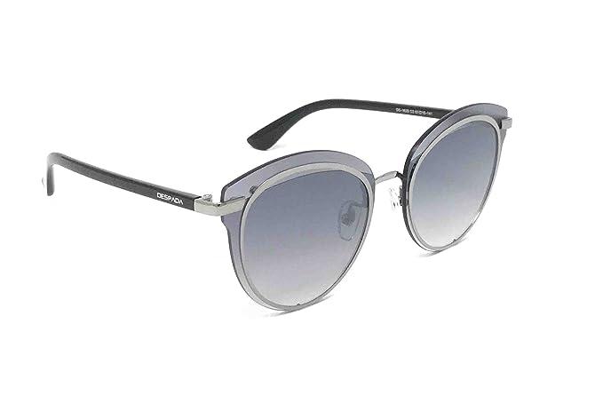 b9ccb39fa7 DESPADA Polarized Women's Designer Fashion Cat Eye Metal Frame Sunglasses  with UV400 Lenses, DS 1629