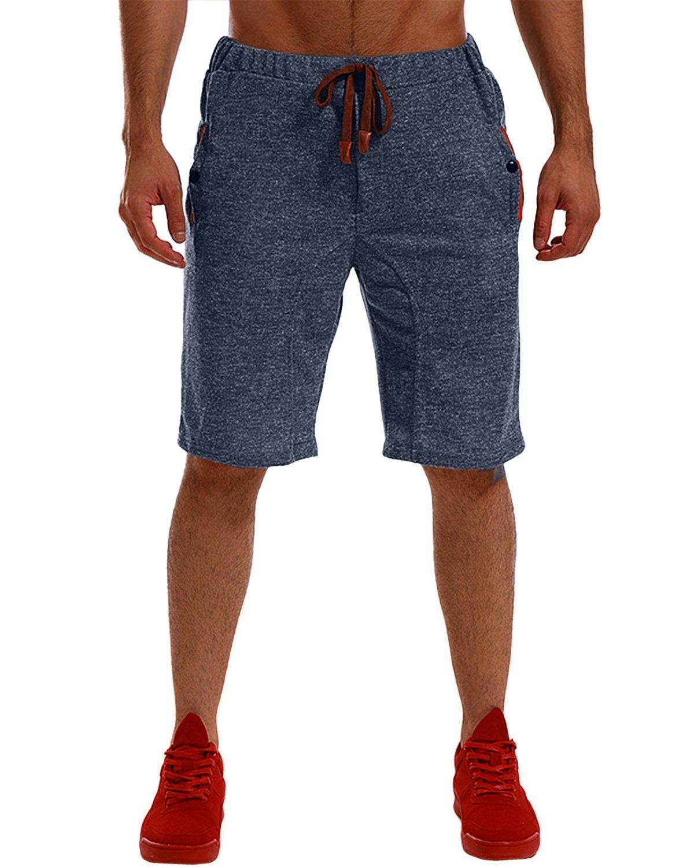 MODCHOK Uomo Pantaloncini Sportivi Bermuda Jogging Tasche Sportivo Casuale Cordone MODCHOKCaaomufaDE739