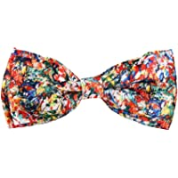 Blacksmith Men's Design Bow Tie (Multicolour)