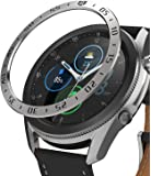 Ringke Bezel Styling for Galaxy Watch 3 45mm Bezel Ring Adhesive Cover Anti Scratch Stainless Steel Protection for…