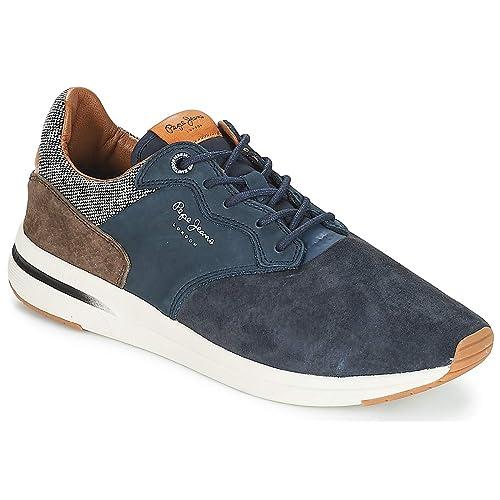 Pepe Jeans JAYKER Nub.Marino MARRÓN PMS30480 Zapatilla para Hombre: Amazon.es: Zapatos y complementos