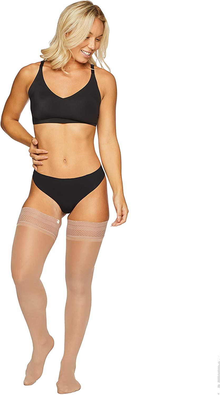 Run and Rip Resistant Tights for Women Sheertex Thigh High Sheer Tights