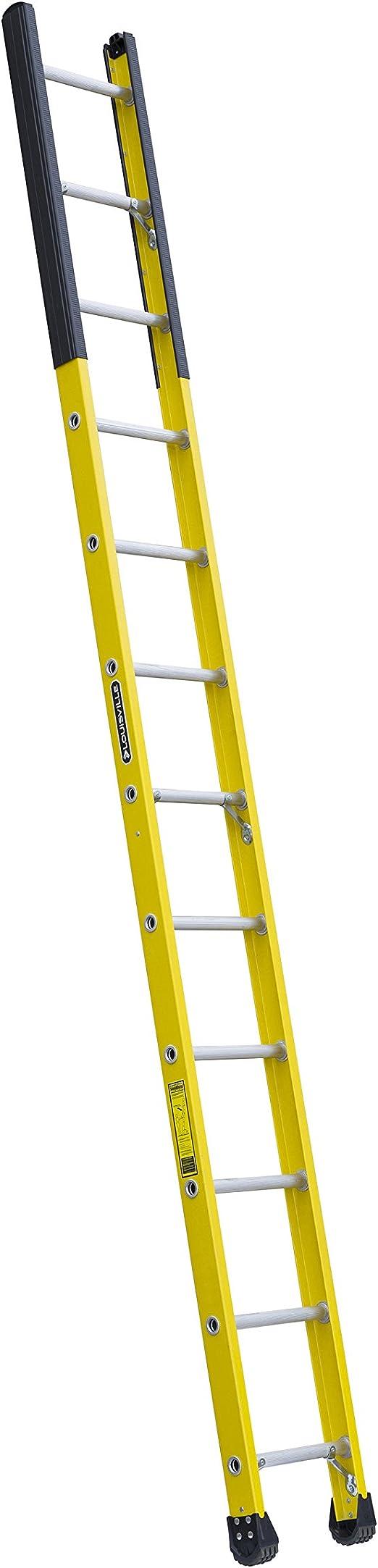 Louisville escalera fibra de vidrio escalera de alcantarilla, 375-pound deber calificación, tipo IAA, amarillo: Amazon.es: Bricolaje y herramientas