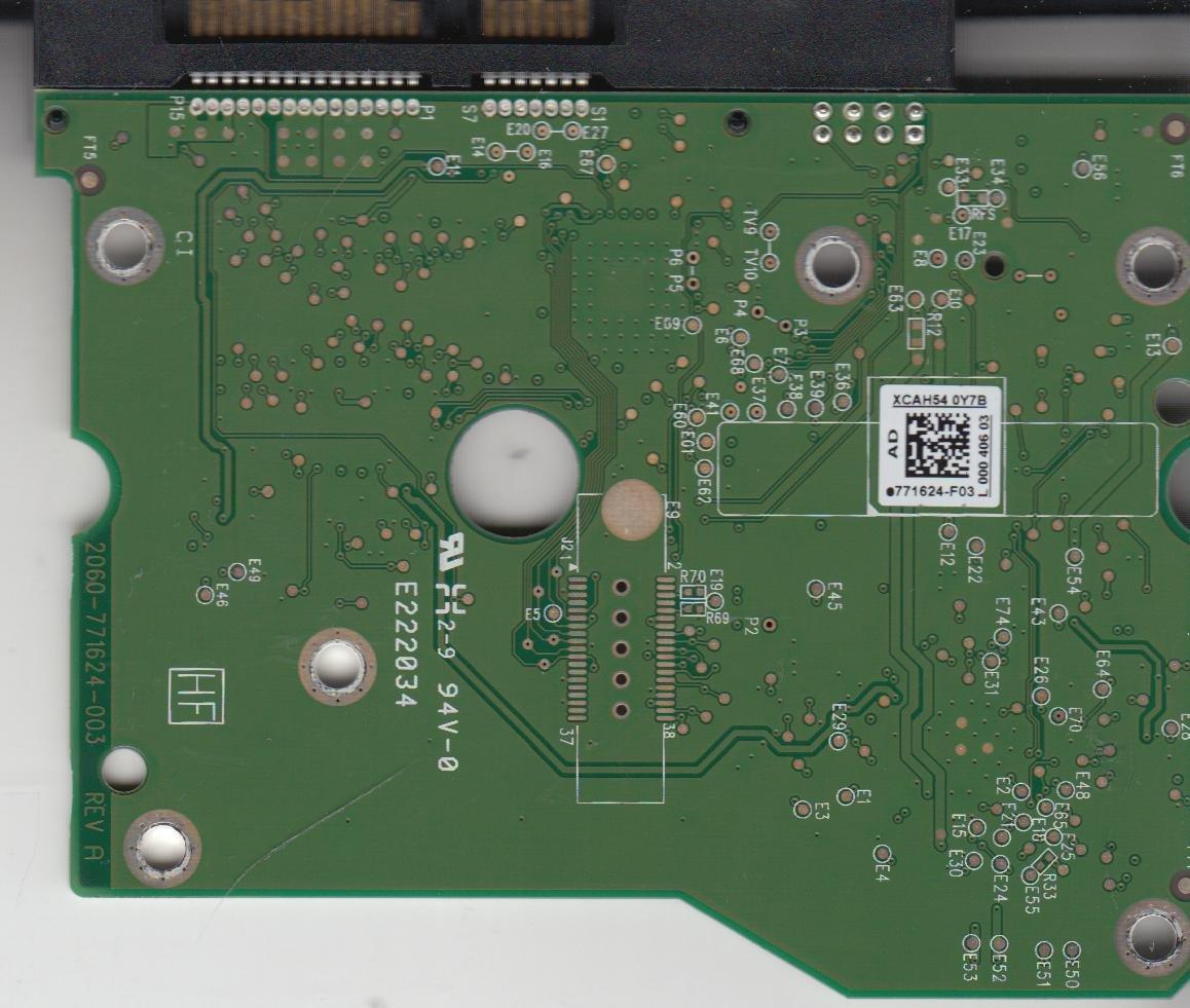 WD1502FAEX-007BA0, 771624-F03 AD, WD SATA 3 5 PCB: Amazon co