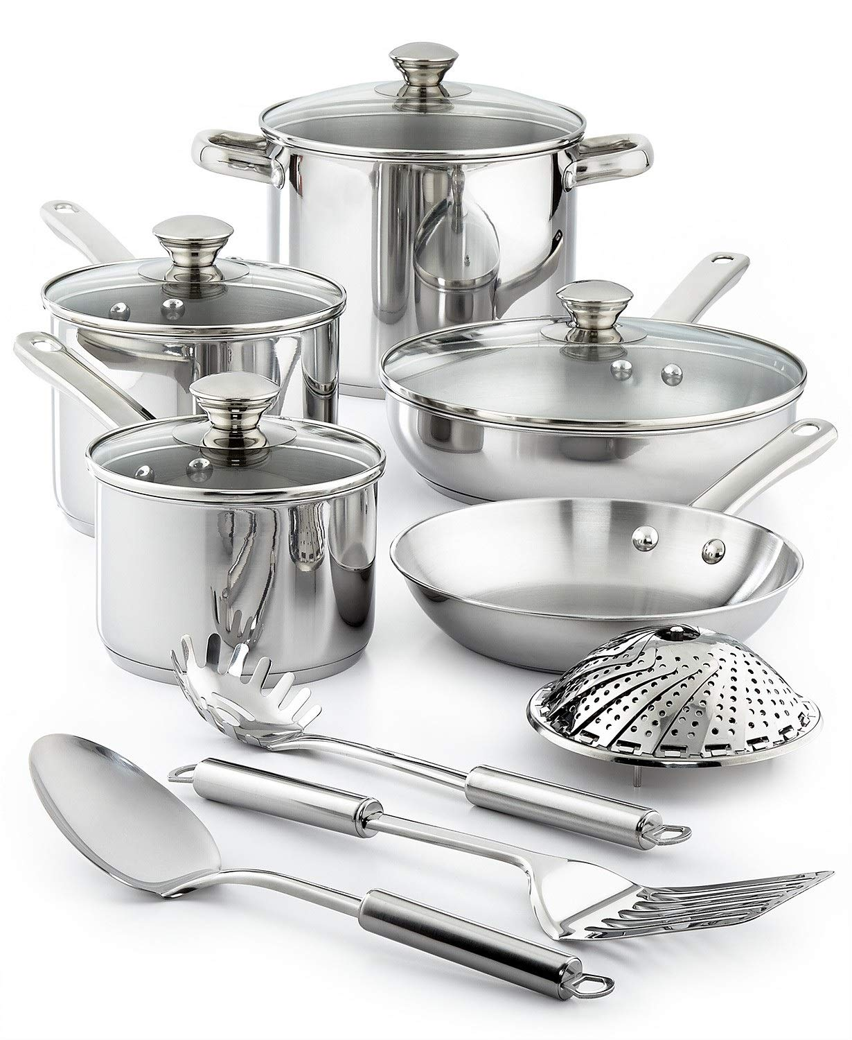 Amazon.com: Tools Of The Trade Stainless Steel 13 Piece: Kitchen & Dining
