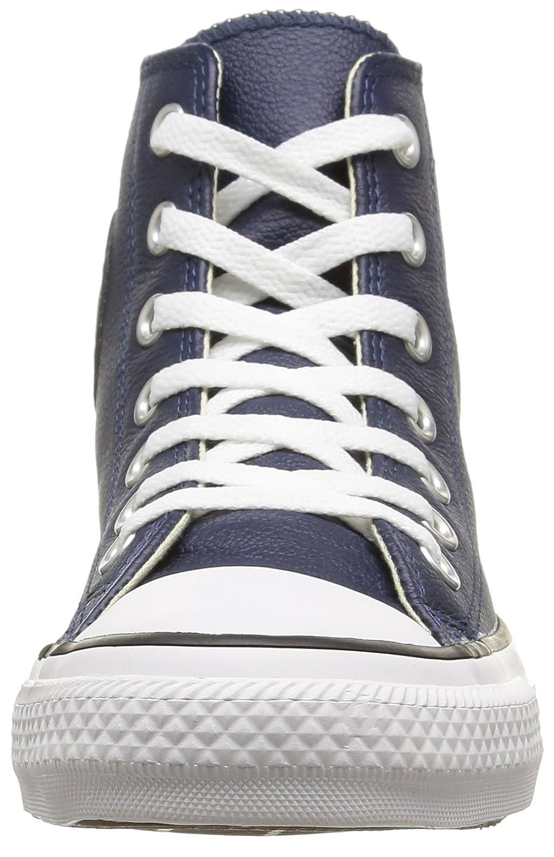 Converse Chuck Taylor All Star Leather High Top Sneaker B00QXVHF08 9.5 B(M) US Women / 7.5 D(M) US Men  Nighttime Navy