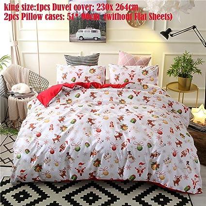 Christmas Sheets King.Buy King 2 Hete Supply Christmas Bedroom Bedding Duvet Cover
