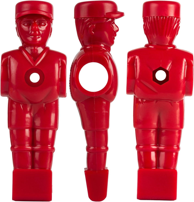 TUNIRO/® 22/x Profi Table Football Figurines Kicker Soccer Pied Variantes pour 5//8/ou 15,9/mm Barres Inclus Jeu de vis r/ésultat centr/é Pleine Barres ou Barres Creuses//Barres t/élescopiques