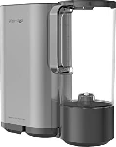 Waterdrop RO Reverse Osmosis Drinking Water Filtration System with Portable Water Pitcher, 5 Stages All-in-One RO Water Filter, TDS Reduction, Tankless, No Electricity, No Pump, Gray