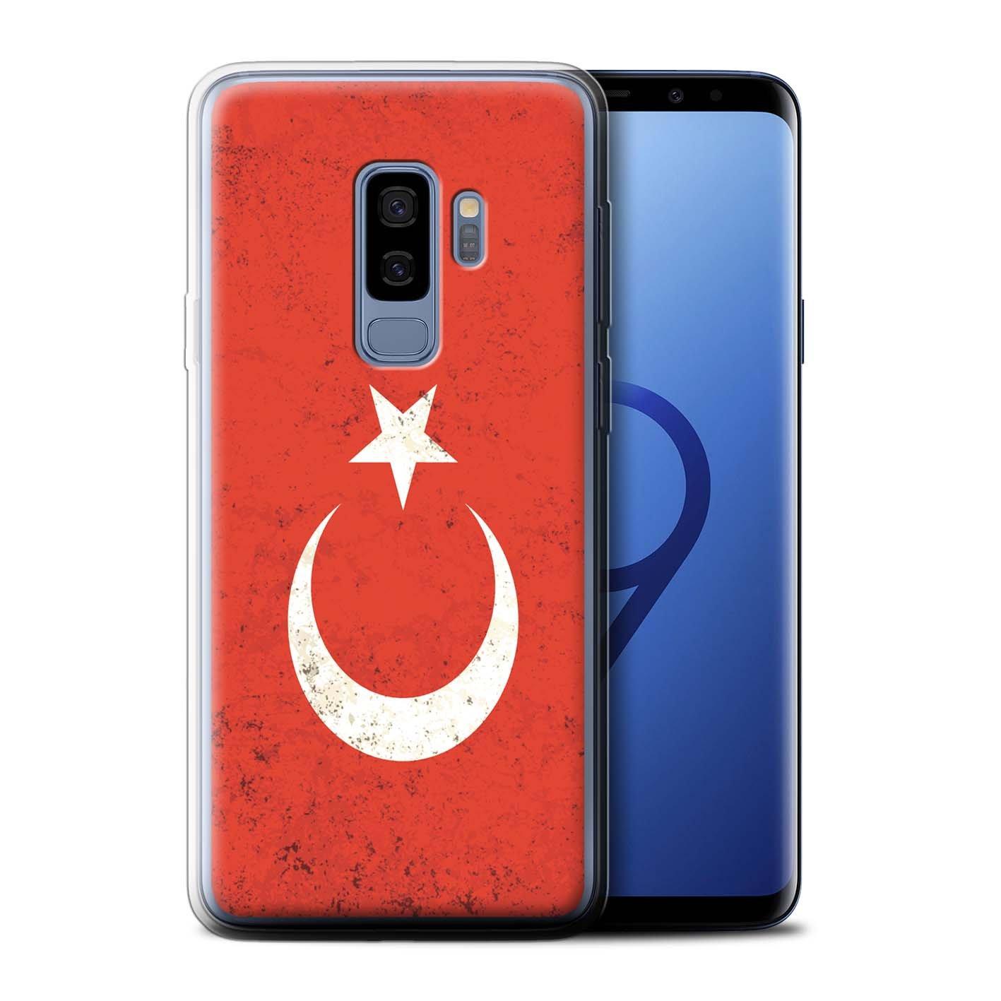 Stuff4 Gel TPU Hülle / Case für Samsung Galaxy S9 Plus/G965 / Türkei/Türkische Muster / Flagge Kollektion