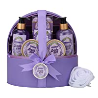 Deals on 12-Pcs Sweetlove Spa Gift Baskets for Women w/Jewellery Case