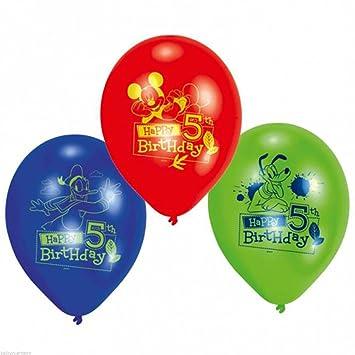 Amscan - Juego de globos grandes para 5º cumpleaños, diseño ...