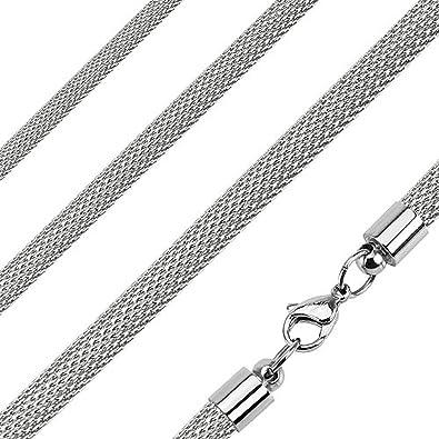 Amazon.com: jinique jsn-6031 collar de cadena de acero ...