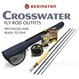 "Redington Crosswater 690-4 Fly Rod Outfit (9'0"", 6wt, 4pc)"