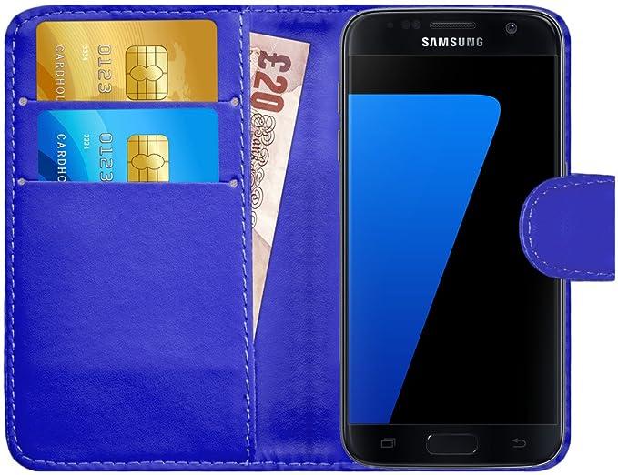 1 opinioni per Custodia Galaxy S7, G-Shield Custodia Portafoglio in Pelle [Porta Carte di