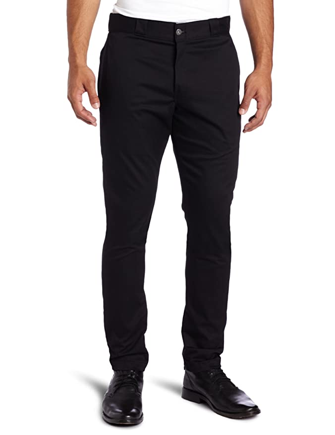 Amazon.com: Dickies Men's Skinny Straight-Fit Work Pant: Clothing
