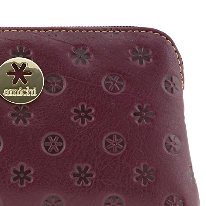 Monedero Piel Vuitton de Amichi Talla: U Color: Burdeos ...