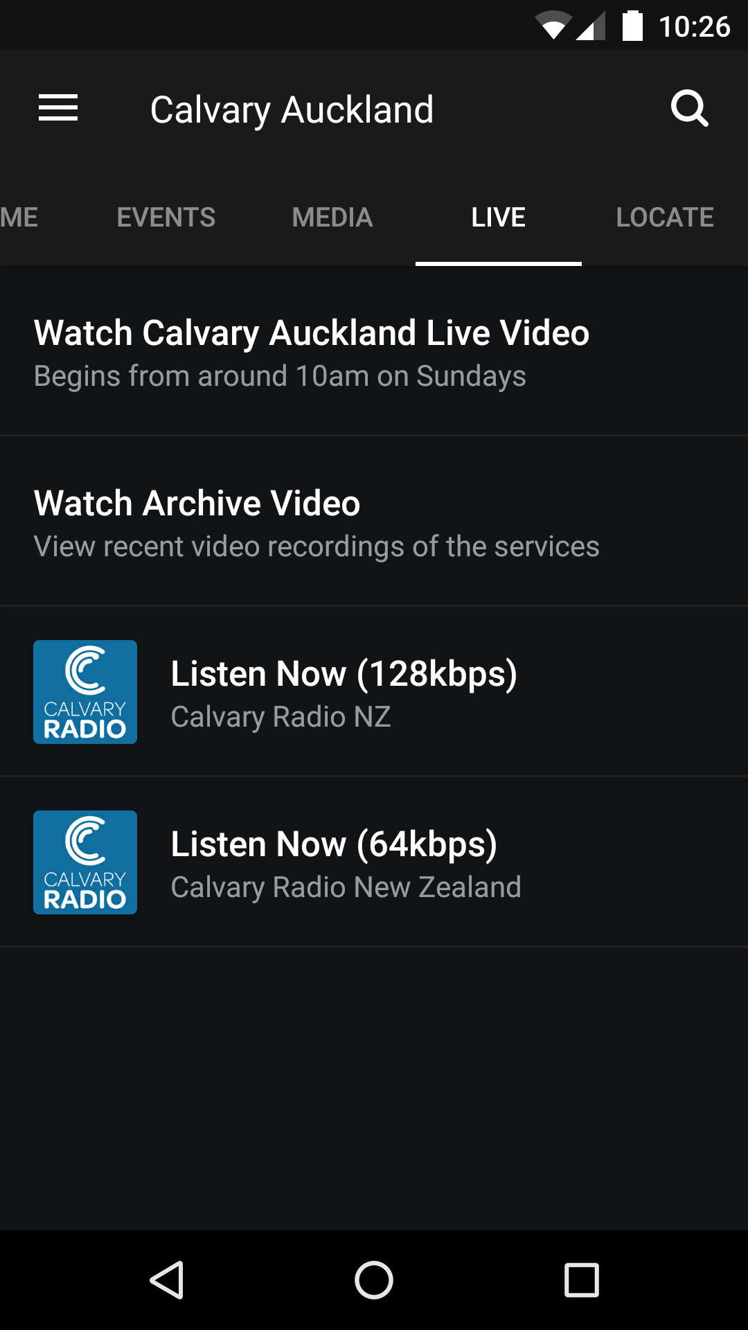 Amazon com: Calvary Chapel New Zealand: Appstore for Android