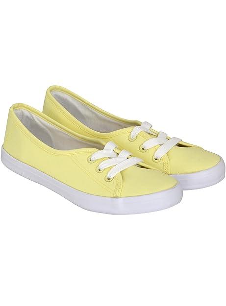 oodji Ultra Mujer Zapatillas de Tela Básicas de Algodón: Amazon.es: Zapatos y complementos