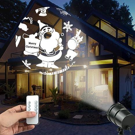 Fodsports - Lámpara LED de proyector de paisaje con foco de ...