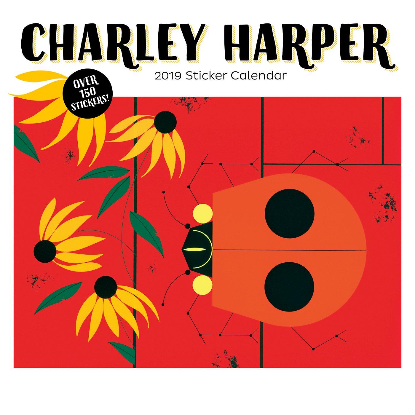 Charley Harper 2019 Sticker Calendar: Charley Harper: 9780764980251:  Amazon.com: Books