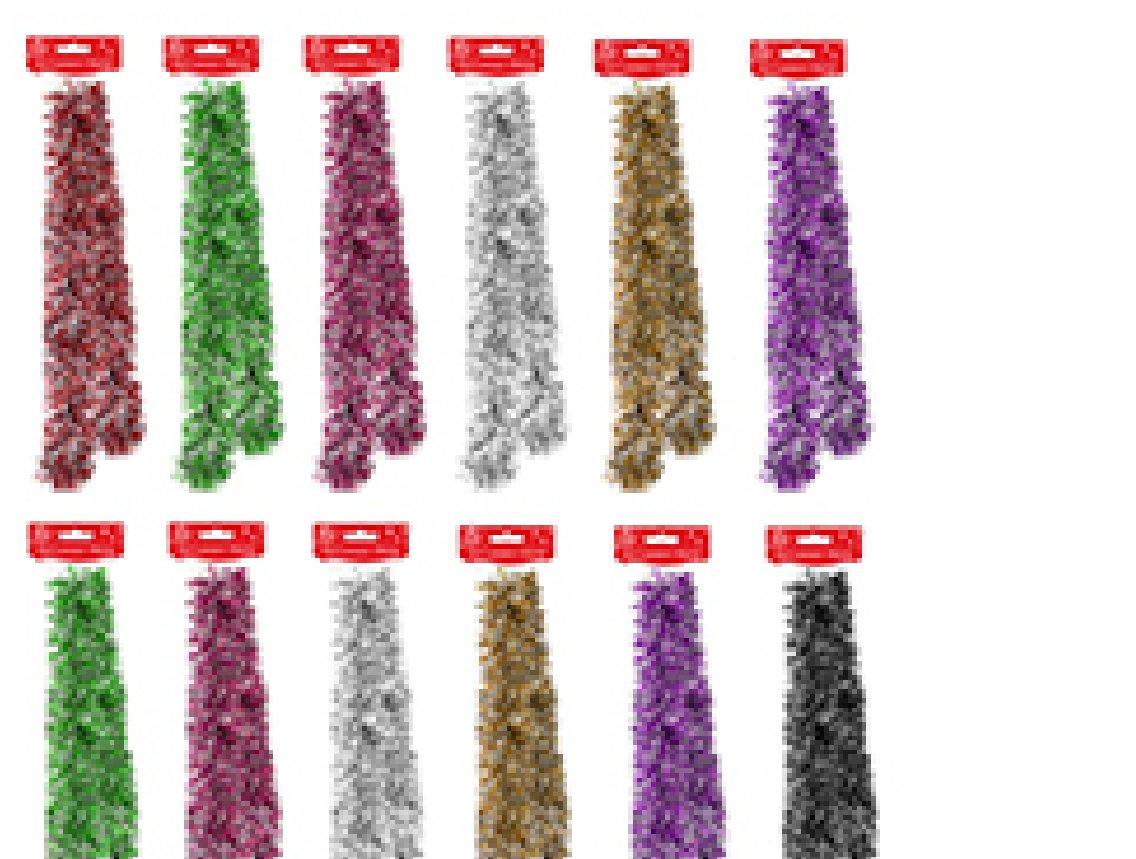 12x 200cm Strands of 'Multi Colour' Luxury Christmas Tinsel Joblot Tallon