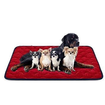 Hero Dog Cama Colchoneta Perro Grande Lavable, Cojines para Mascotas Antideslizante Vellón Almohadilla Suave 140x100