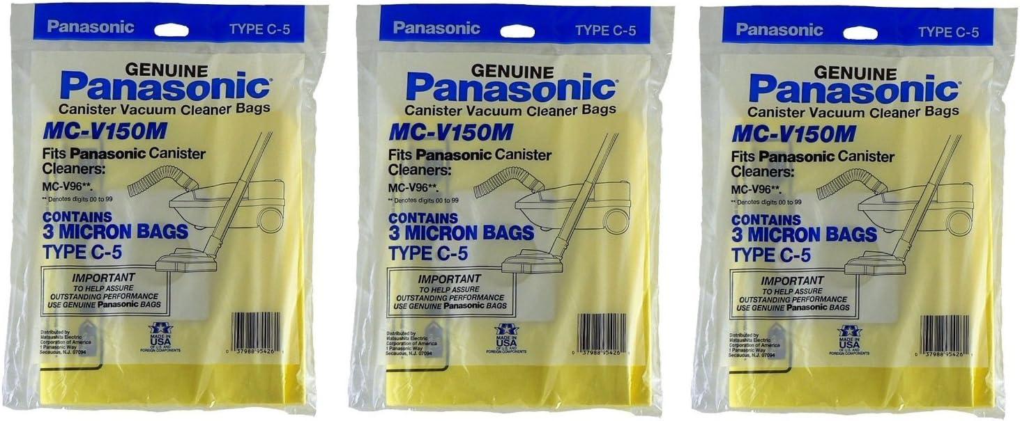 Panasonic C-5 Micron Filtration Vacuum Bags 3 bags