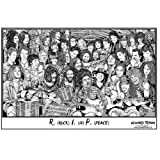 Howard Teman- (R.I.P.) Rock in Peace Poster by Howard Teman 36 x 24in