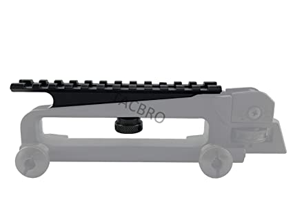 TACBRO USGI AR-15 / M16 Carry Handle Mount with One Free Aluminum  Opener(Randomly Selected Color)