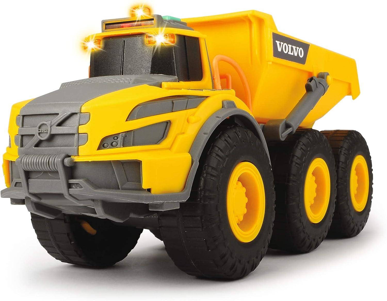 Dickie- Camión volquete de Juguete (Simba Toys 3723004)