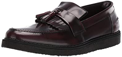 e54eae5c0 Fred Perry Men's George Cox Ox Blood Tassel Loafer: Amazon.fr ...