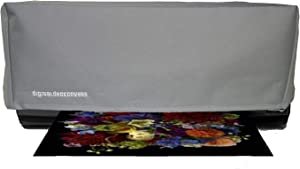DigitalDeckCovers Printer Dust Cover & Protector for Epson SureColor P800 / Stylus Pro 3800/3880 Printers [Antistatic, Water Resistant, Heavy Duty Fabric, Dust-Proof, Silver]