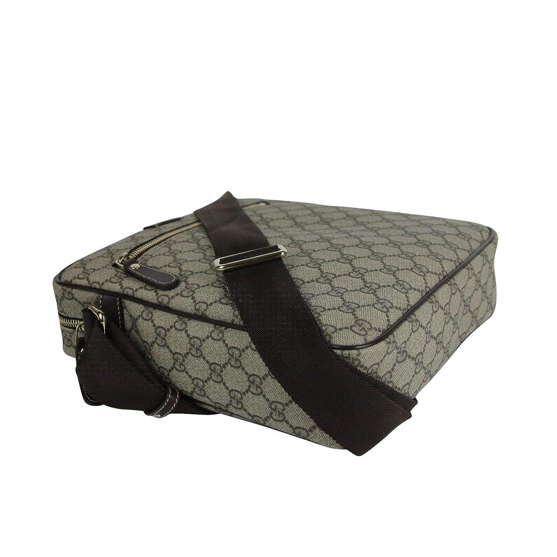237eb503a36 Amazon.com  Gucci Men s Shoulder Beige Ebony GG Coated Canvas Bag 201448  FCIGG 8588  Shoes