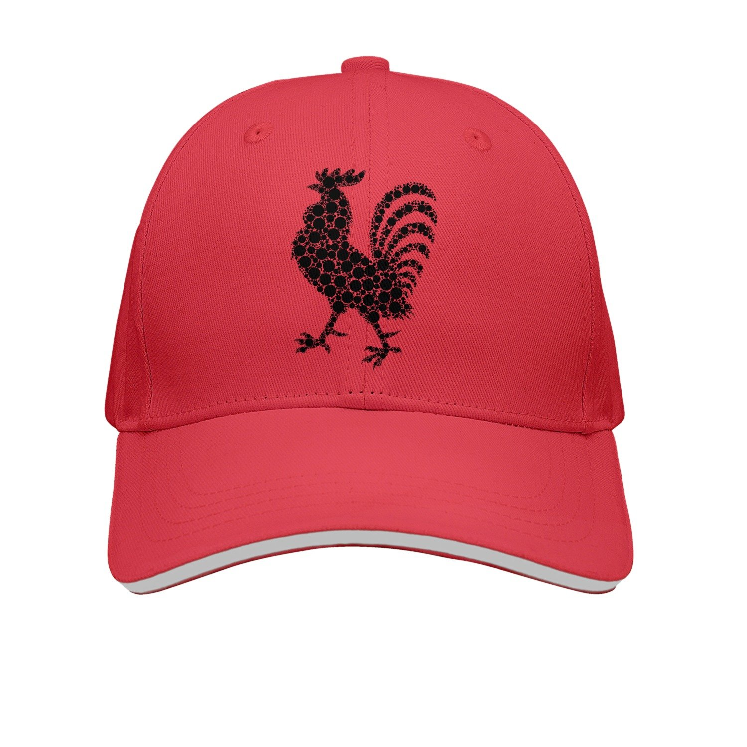 OKSDLK Black Rooster Snapback Hats Cool Hat at Amazon Men s Clothing store  65ad011fdd2