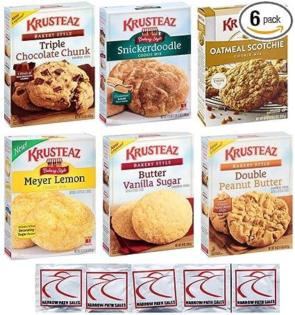 KRUSTEAZ paquete surtido de galletas – Paquete de 6 sabores ...