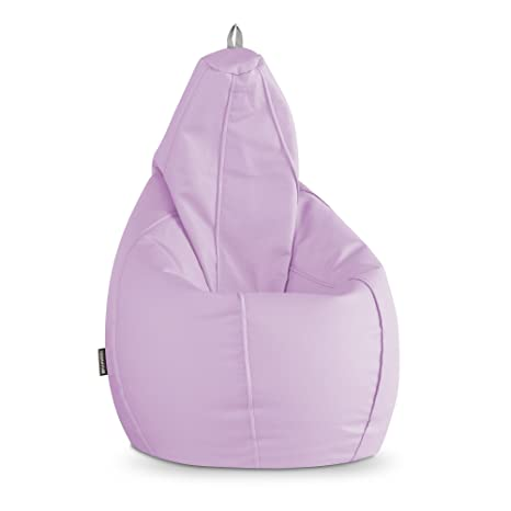 Happers Puff Pera Polipiel Indoor Lavanda XL