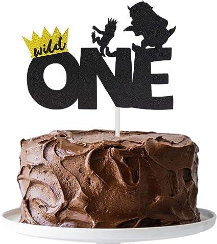 Pleasing Wild One Cake Topper Kids Boy Or Girl 1St First Birthday Cake Birthday Cards Printable Opercafe Filternl