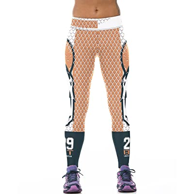 7TECH Women's Running Printed Quick-Drying Leggings Slimming Yoga Pants Average Size #1105