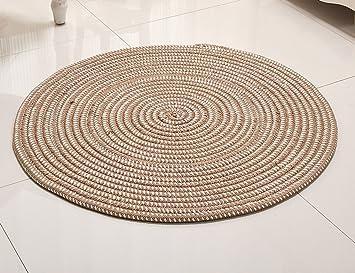 Runde Teppich amazon de runder teppich seil serie runde teppich computer kissen