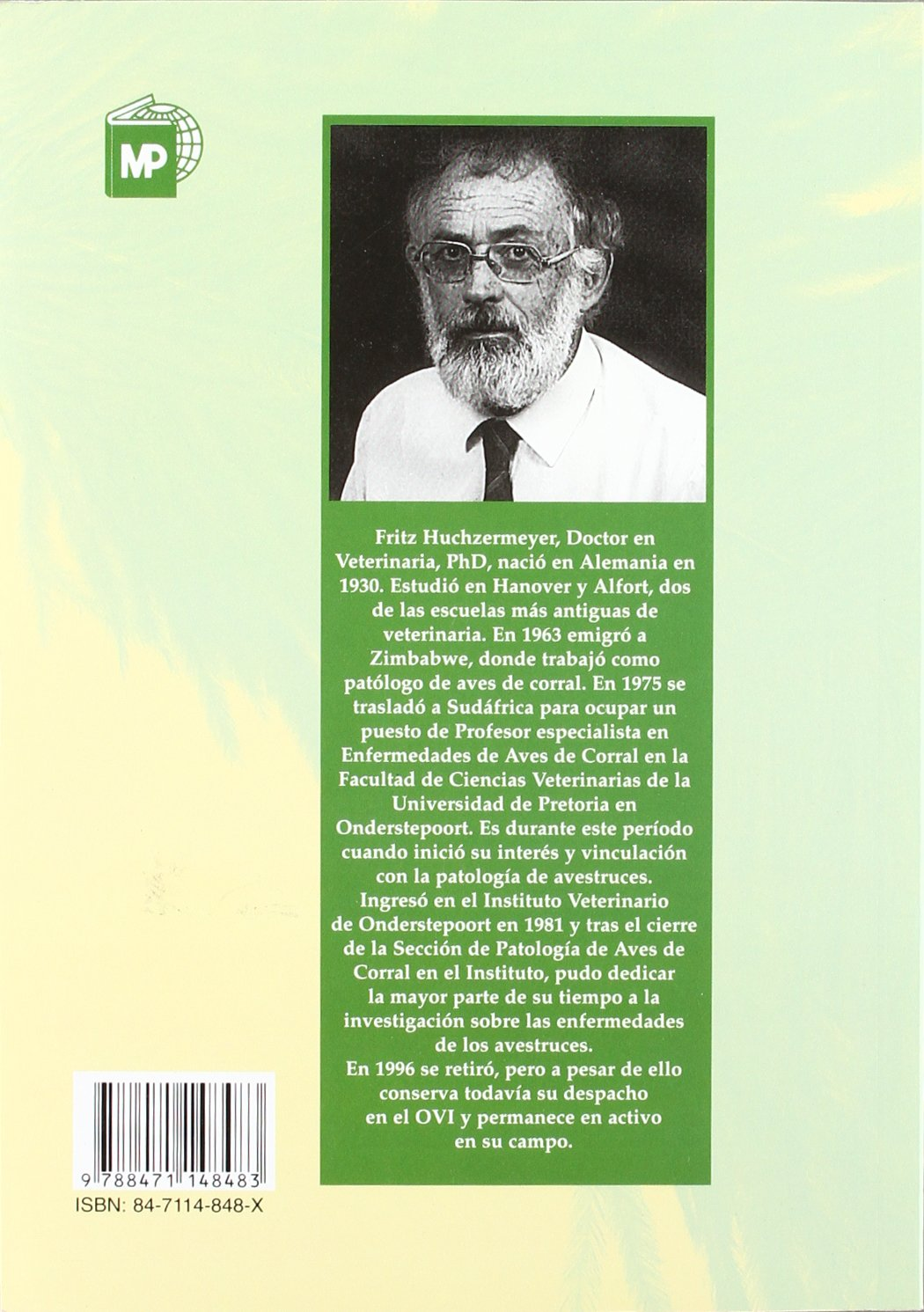 Patologia de Avestruces y Otras Ratites (Spanish Edition)