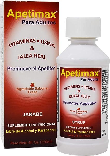 medicamento para abrir el apetito adultos