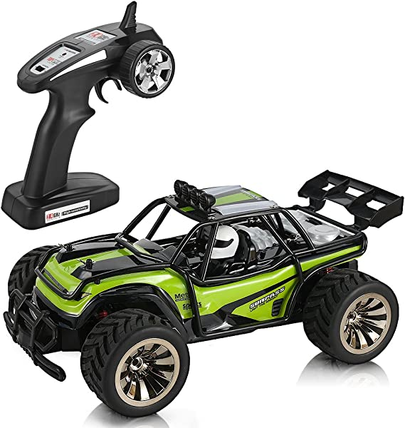 Rc Cars Dune Thunder 2.4 Ghz 4Wd 1//12 Scale Desert Buggy 25 Mph High Speed With
