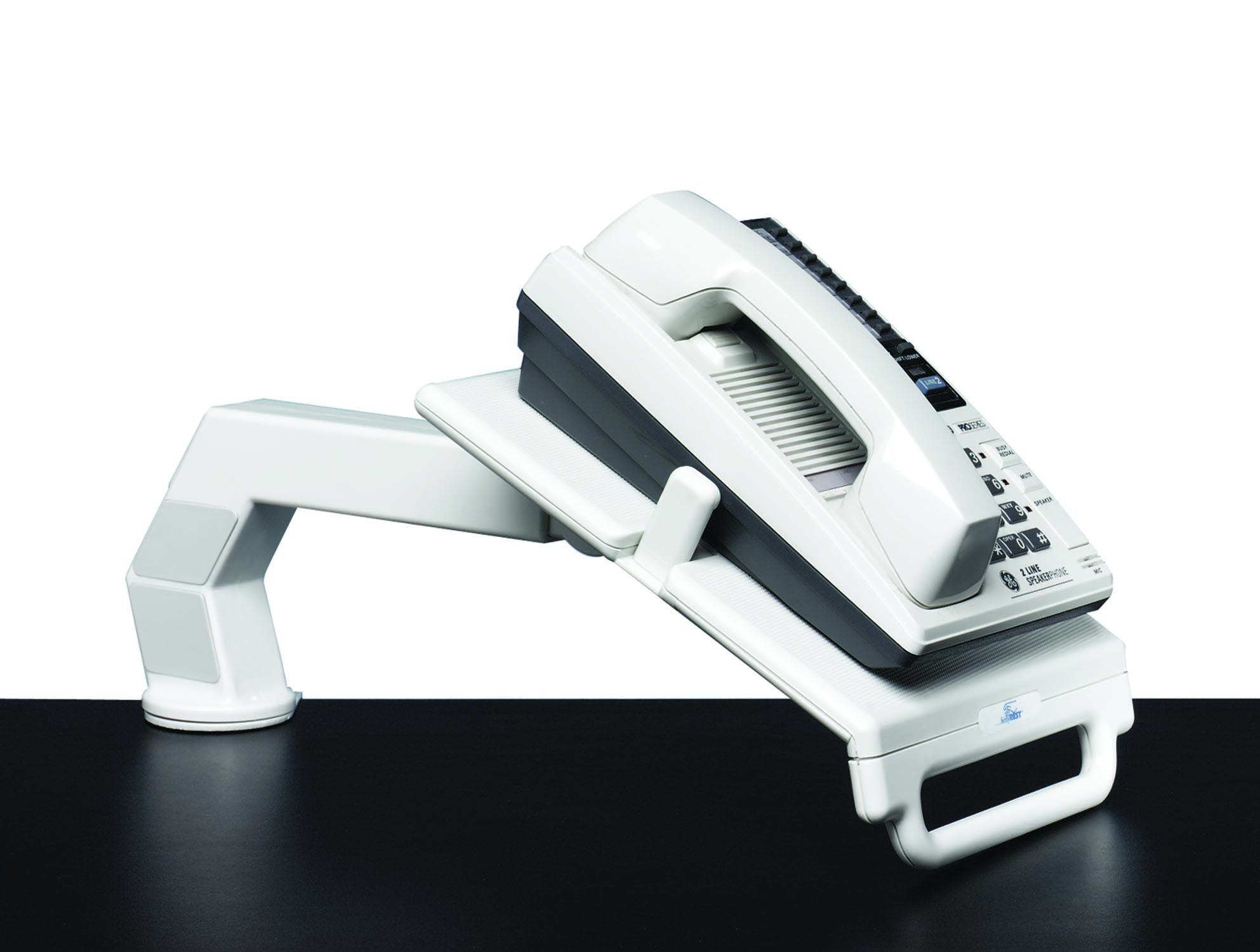 Corporate Phone Arm, 9-1/2Wx11-1/2Dx5H, Gray