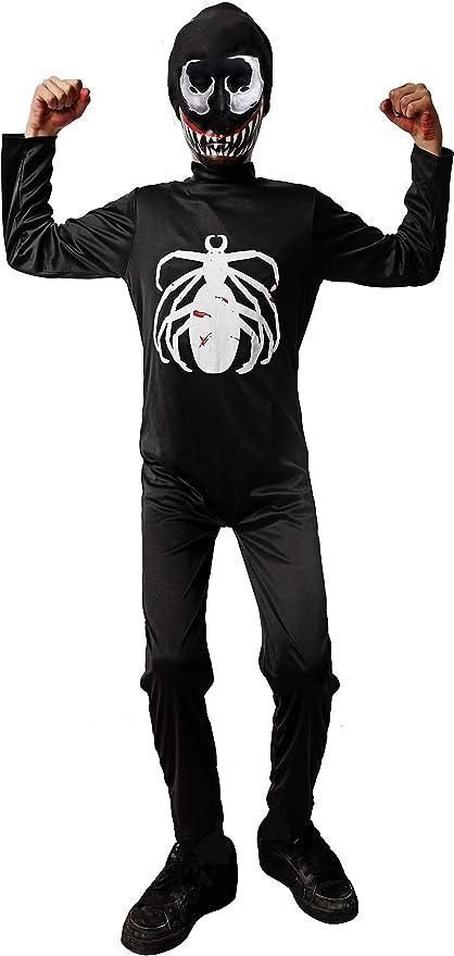 DYSMAD Gojoy Shop- Disfraz de Araña Negra para Niño para Halloween ...